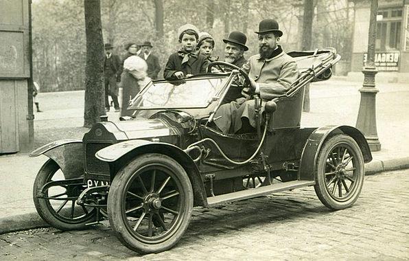 Oldtimer Motorized Auto Car Automotive Old Brouhot