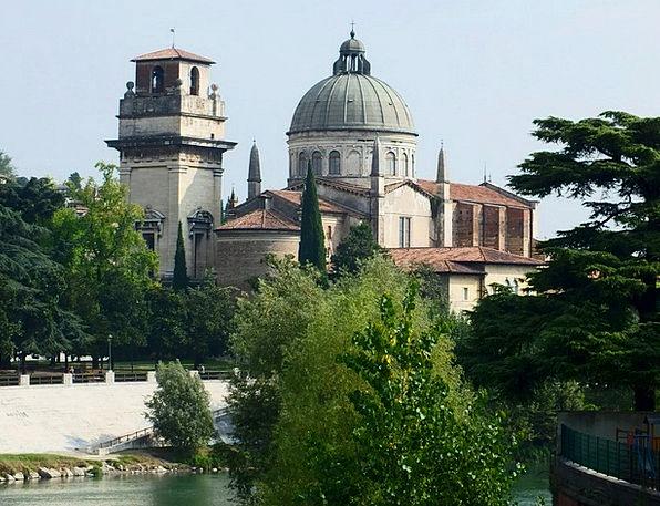 Verona Braida San Giorgio Church Ecclesiastical It