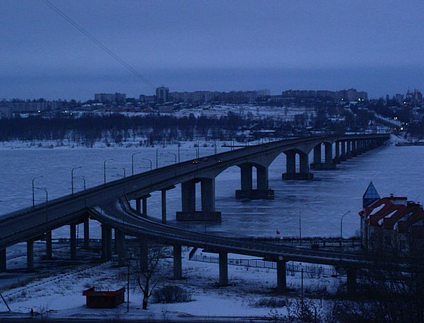 Kolomna Buildings Bond Architecture City Bridge Ur