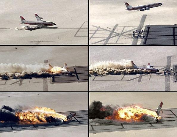 Plane Crash Bang Crash Landing Crash Impact Influe