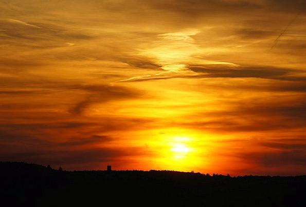 Sunset Sundown Vacation Travel Nature Countryside