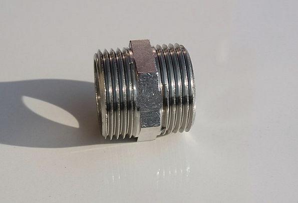 Brass Nerve Fittings Furnishings Chrome Metal Meta