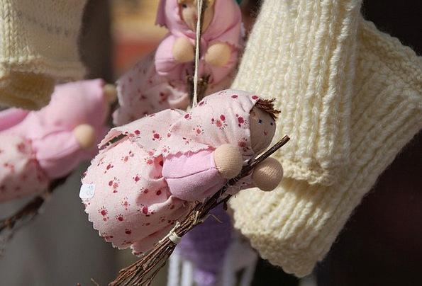 Crafts Skills Needlework Knitted Material Handmade