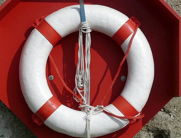 Lifebelt Lifebuoy Established Ship Vessel Mature W