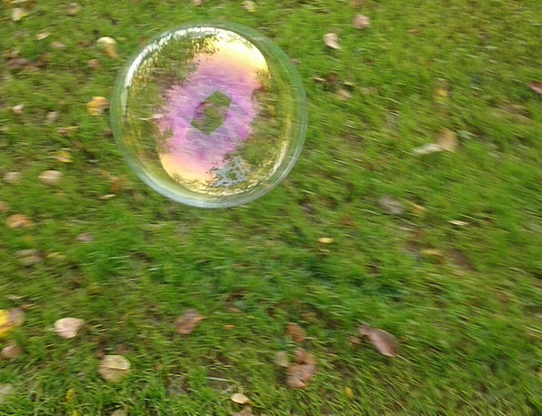 Soap Bubble Landscapes Countryside Nature Ball Sph