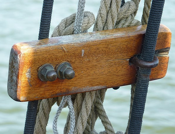 Rigging Ropes Dew Precipitation Sailing Vessel Sai