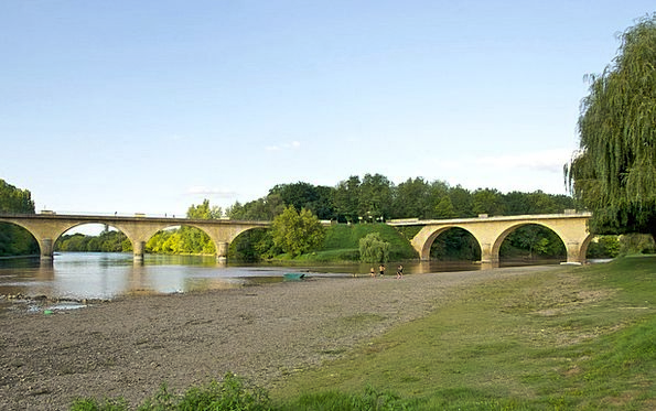 Dordogne Landscapes Nature Landscape Scenery Franc