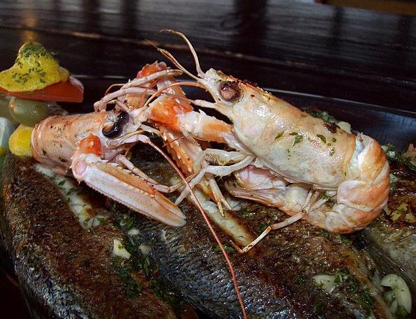 Fish Plate Marine Crabs Sea