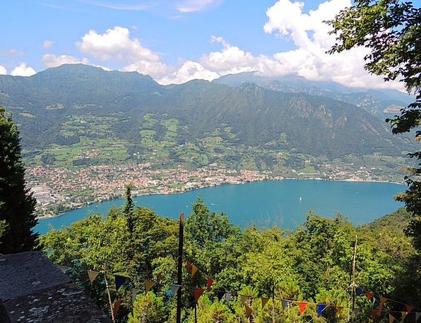 Lago Diseo Landscapes Countryside Nature Water Aqu