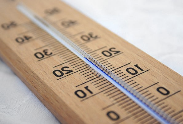Celsius Gauge Device Centigrade Thermometer Glass