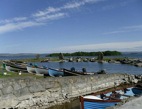 Ireland Water Aquatic County Galway Lake Freshwate