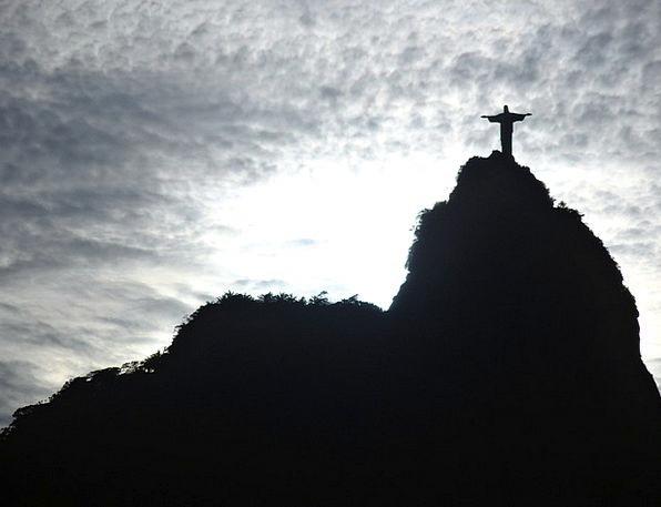 Corcovado Christ The Redeemer Rio De Janeiro Brazi