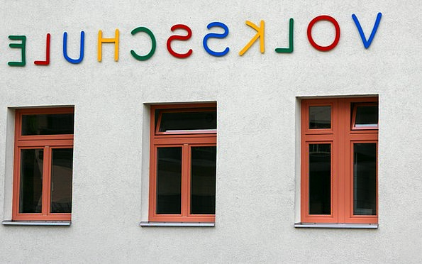 School University Gap Facade Frontage Window Lette