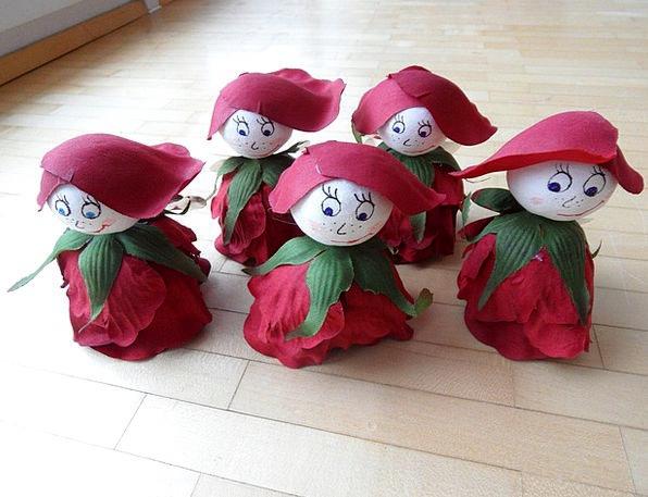 Tinker Fiddle Children Broods Flower Elves Decorat