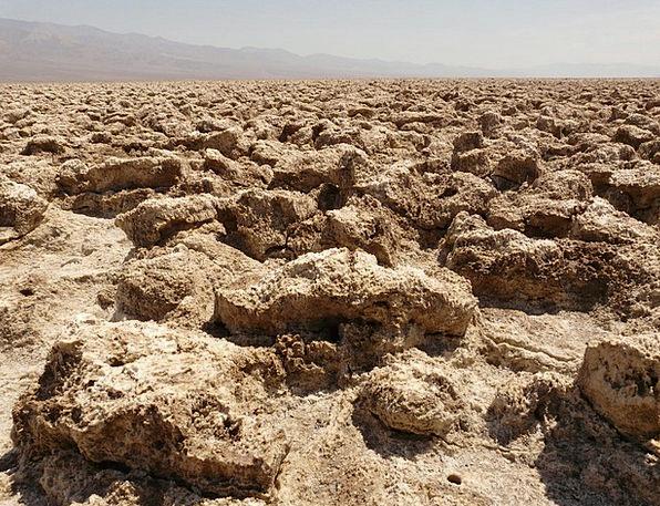 Death Valley National Park Devil'S Golf Course Dea