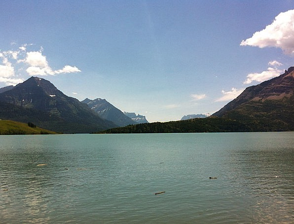 Mountains Crags Landscapes Freshwater Nature Canad