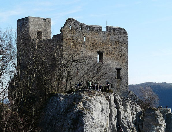 Reußenstein Buildings Fortress Architecture Ruin D