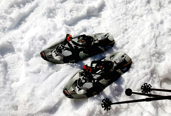 Snow Shoes Snow Snowflake Snowshoeing Alpine Mount