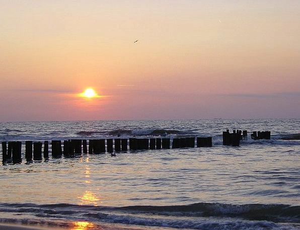 Sun Vacation Marine Travel Setting Sun Sea Beach S