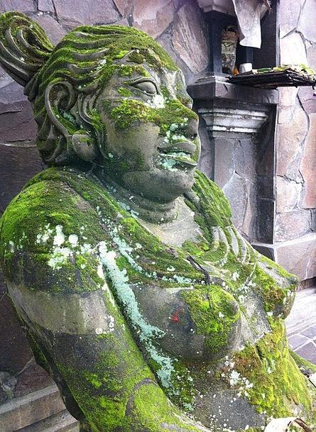 Bali Figurine Stone Pebble Statue Ubud Stone Figur