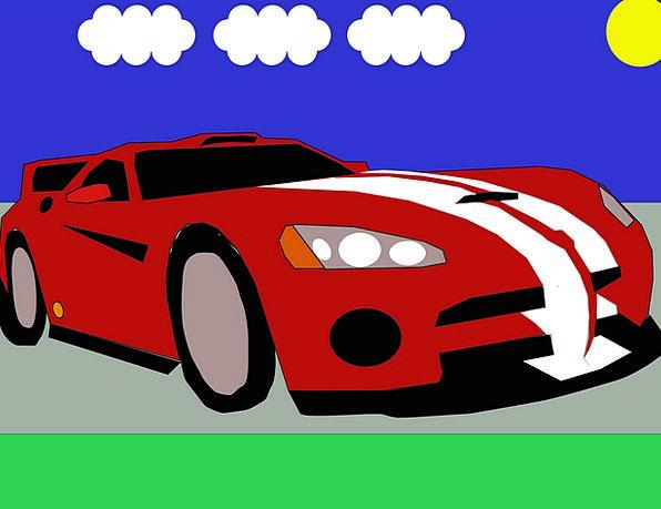 Car Carriage Traffic Transportation Viper Asp Auto