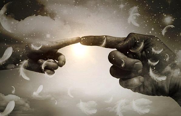 Divine Heavenly Digit Contact Interaction Finger L
