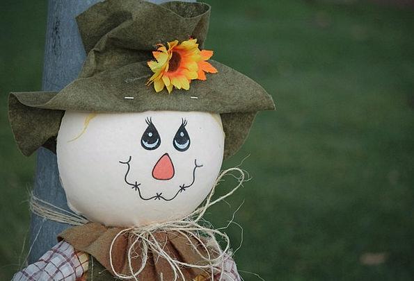 Scarecrow Figure Reduction Autumn Fall Harvest Cro