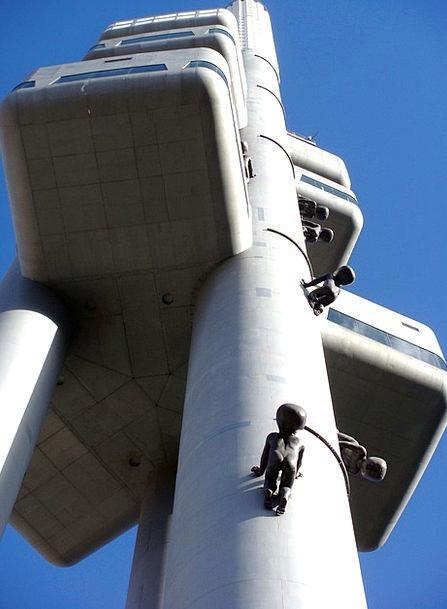 Zizkov Television Tower Buildings Architecture Arc