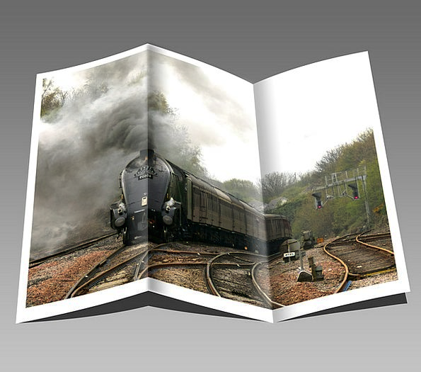 Booklet Brochure Leaflet Train Pullman Pamphlet Li