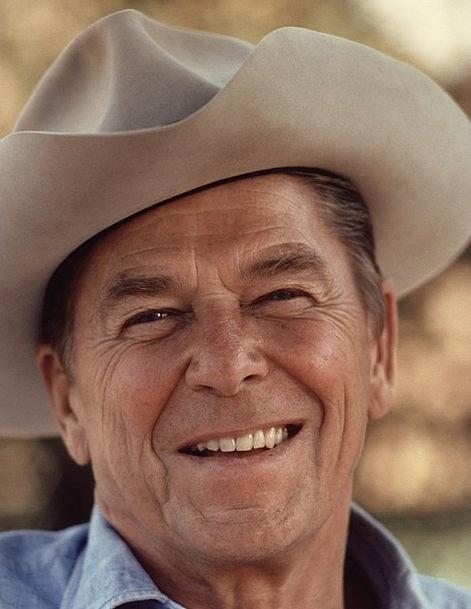Cowboy Unreliable Cowboy Hat Ronald Reagan Man Hat