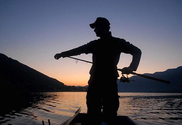 Fischer Angle Man Gentleman Fish Profession Occupa