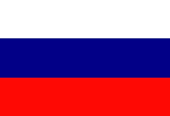 Russia Standard National Nationwide Flag Free Vect