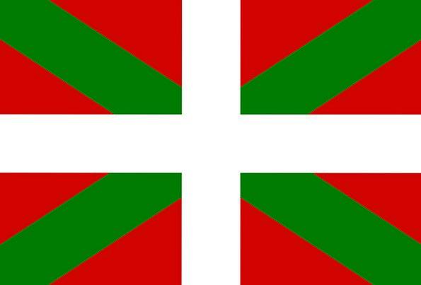 Basque Standard Spain Flag Signs Ciphers Symbols E
