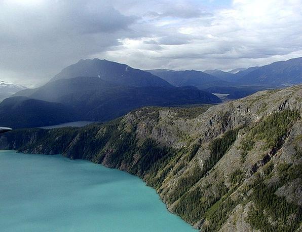 Lake Freshwater Landscapes Nature Yukon Territory