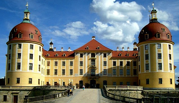 Moritz Castle Buildings Building Architecture Cast