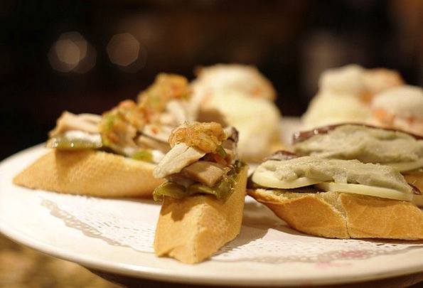 Tapas Spits Gastronomy Cuisine Skewers Basque Coun