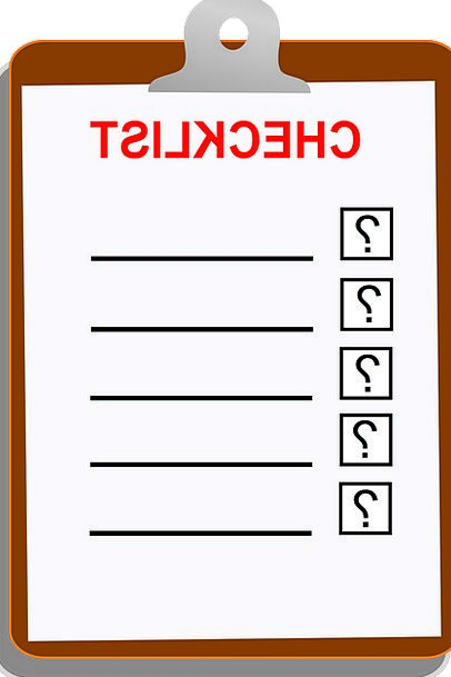 Checklist List Blank Outright Clip Board To Do Con