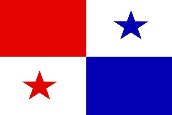 Panama Cap Standard Country Flag Symbol Sign Natio