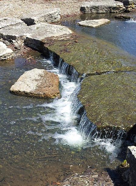 Rocks Pillars Landscapes Watercourse Nature Stone
