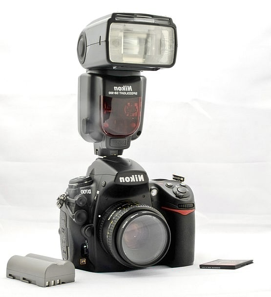Camera Dslr Nikon Flash Showy Nikon D700 D700