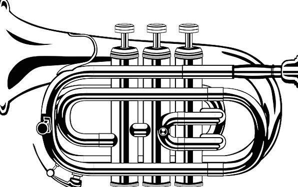 Trumpet Broadcast Melody Brass Nerve Music Free Ve
