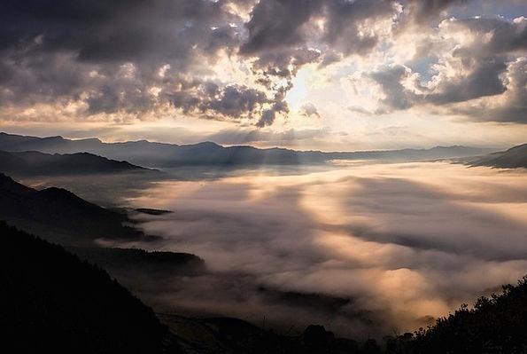 Japan Caldera Kumamoto Somma Cloud Sea Of Clouds A