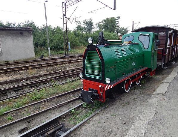 Narrow-Gauge Railway Pullman Locomotive Train Hist