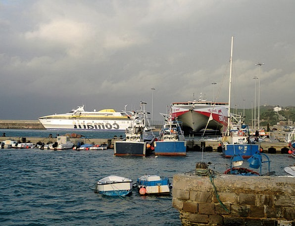 Port Harbor Spain Port City Southern Spain Andalus