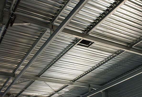 Roof Rooftop Steel Strengthen Siding Hall Gallery