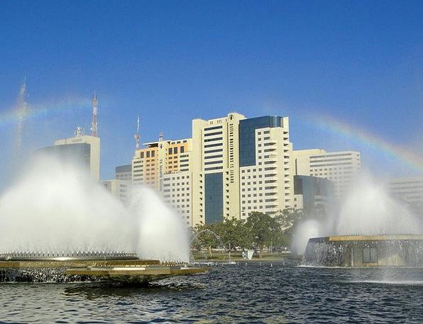 Brasilia Buildings Architecture Fountains Cascades