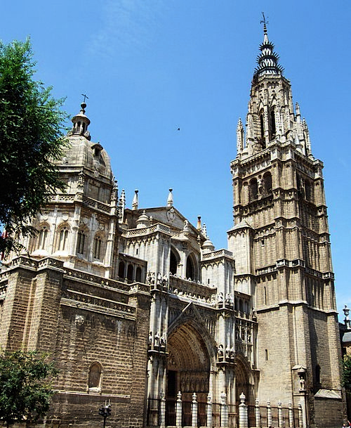 Cathedral Church Ecclesiastical Toledo Spain Const