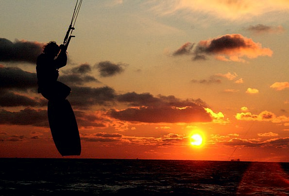 Kite Surfing Diversion Kitesurfing Sport Dynamic K