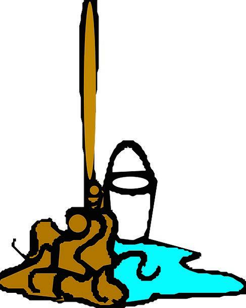 Mop Wash Aquatic Cleaning Housework Water Mopping