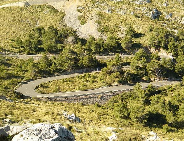 Majorca Landscapes Flag Nature Way Method Streamer